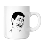 Yao Ming Bitch Please Meme Face 11oz. Novelty Coffee Mug