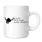 Funny Pillage Burn Viking 11oz. Novelty Coffee Mug
