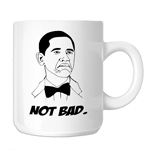 Funny Not Bad Obama Meme Face 11oz. Novelty Coffee Mug