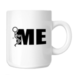 Funny Humping Stick Figure F*ck Me 11oz. Novelty Coffee Mug