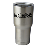 30 oz. SIC Cup with Decal Funny JDM Fresh as F*ck Thermos Mug Pint Glass Container