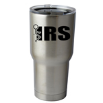 30 oz. SIC Cup with Decal Funny Stick Figure Humping F*ck the IRS Thermos Mug Pint Glass Container