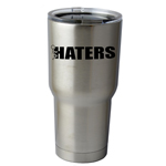 30 oz. SIC Cup with Decal Funny Humping Stick Figure F*ck Haters Thermos Mug Pint Glass Container