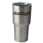 30 oz. SIC Cup with Decal Four Bangin Engine 4 Cylinder JDM Thermos Mug Pint Glass Container