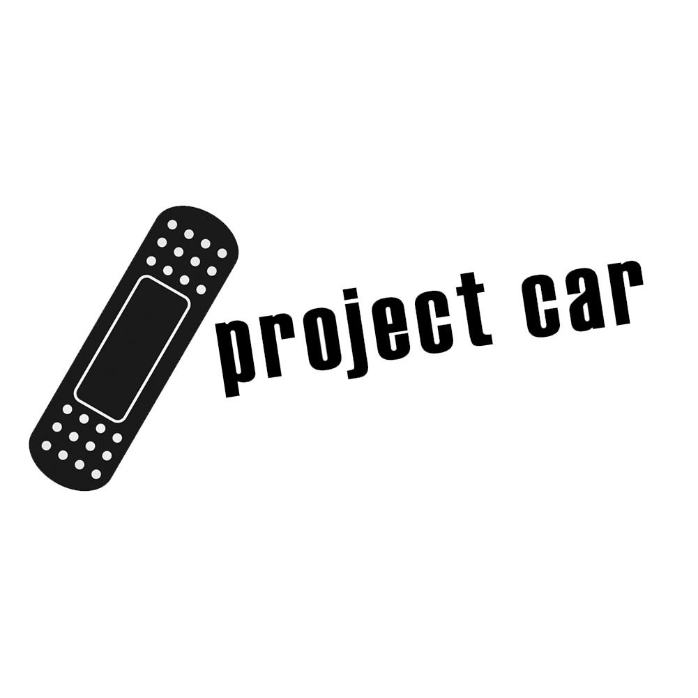 JDM Bandaid Project Car Vinyl Sticker Car Decal