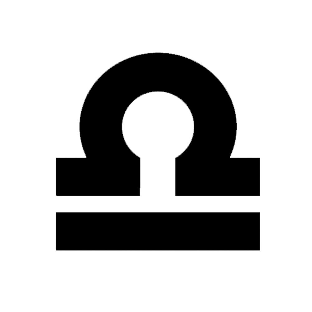 libra signo zodiac sign libra silhouette vinyl sticker car