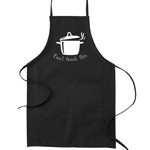 Can't Touch This Hot Pot Pun Funny Parody Cooking Baking Kitchen Apron