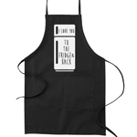 I Love You to the Fridge and Back Pun Funny Parody Cooking Baking Kitchen Apron