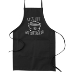 Rock Out With Your Crock Out Crockpot Pun Funny Parody Cooking Baking Kitchen Apron
