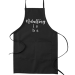 Adulting is BS Funny Parody Cooking Baking Kitchen Apron
