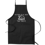You Know I'm All About That Baste Turkey Pun Funny Parody Cooking Baking Kitchen Apron