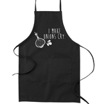 I Make Onions Cry Funny Parody Cooking Baking Kitchen Apron