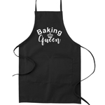 Baking Queen Funny Parody Cooking Baking Kitchen Apron