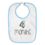 4 Months Old Infant Baby Bib