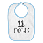11 Months Old Infant Baby Bib