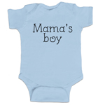 Mama's Boy Funny Baby Boy Bodysuit Infant