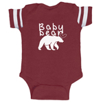 Baby Bear Cub Funny Baby Boy Jersey Bodysuit Infant