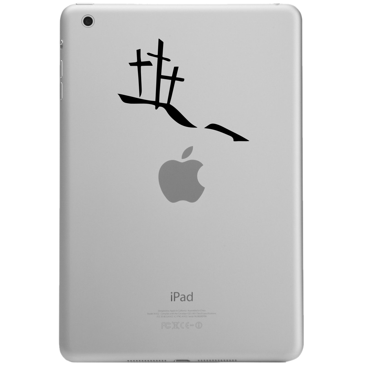 Calvary Hill Silhouette Crosses Christian iPad Tablet Vinyl Sticker Decal