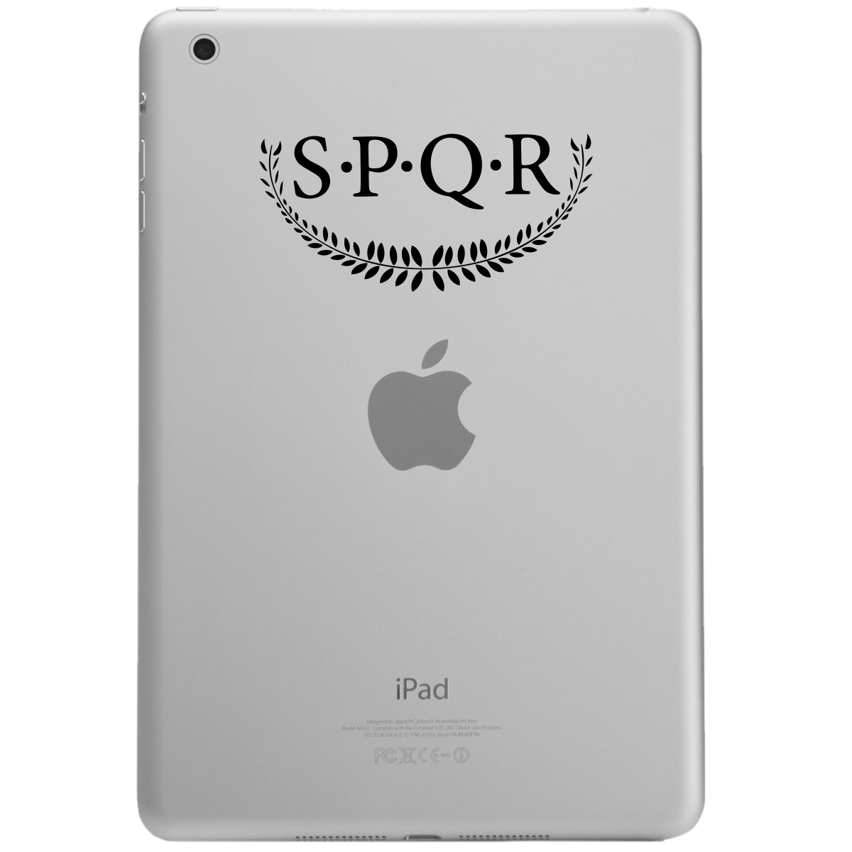 SPQR Roman Strength and Honor iPad Tablet Vinyl Sticker Decal