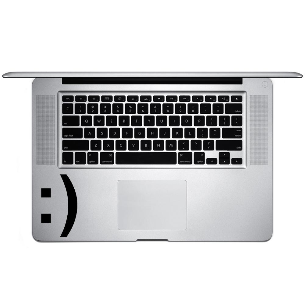 Smiley Face Emoji Emoticon Symbol Vinyl Sticker Laptop Keyboard
