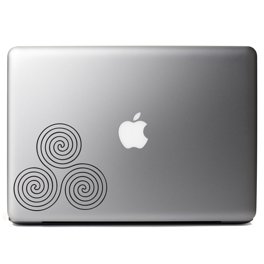 Celtic Circle Swirls Vinyl Sticker Laptop Decal
