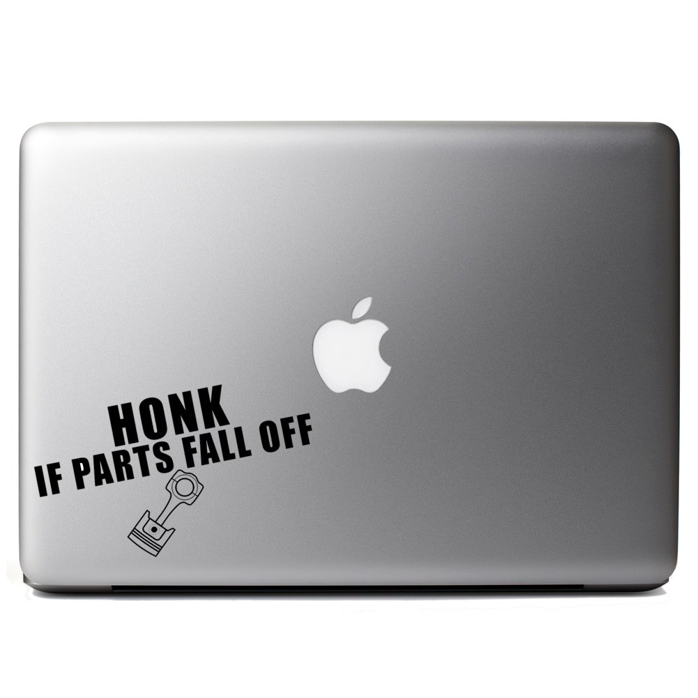 Honk If Parts Fall Off JDM Vinyl Sticker Laptop Decal