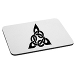Triangular Celtic Cross Knot Mouse Pad