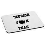 Funny Patriotic Murica F*ck Yeah Mouse Pad