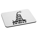 Do Not Tread on Me Patriotic Snake Mouse Pad