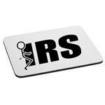 Funny Stick Figure Humping F*ck the IRS Mouse Pad