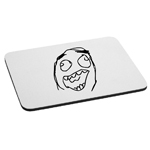 Funny Laughing Meme Face Mouse Pad