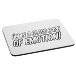 Funny Ron Burgundy Quote I'm in a Glass Case of Emotion Mouse Pad