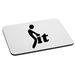 Funny Stick Figure Humping Love it Mouse Pad