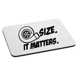 JDM Size Matters Turbo Boost Mouse Pad