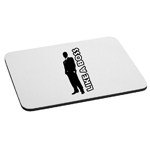Like a Boss Guy Silhouette Mouse Pad