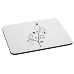 Pretty Floral Branch Mouse Pad