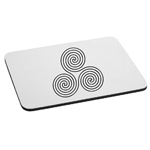 Celtic Circle Swirls Mouse Pad