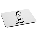 Funny Not Bad Obama Meme Face Mouse Pad