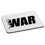 Funny Humping Stick Figure F*ck War Mouse Pad
