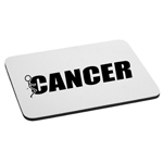 Funny Humping Stick Figure F*ck Cancer Mouse Pad