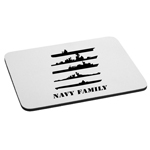 Navy Family Ships Military Mouse Pad
