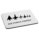 Air Force Family Planes Military Mouse Pad