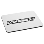 Police Public Call Box Mouse Pad