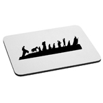 LOTR Inspired Caravan Silhouette Mouse Pad