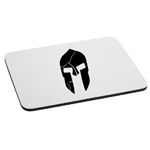 300 Inspired Cracked Spartan Helmet Mouse Pad