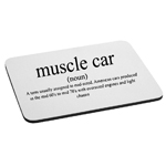 Funny Muscle Car Definition JDM Mouse Pad
