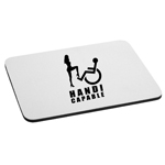 Handy Capable Funny Wheelchair Sexy Girl Mouse Pad