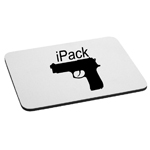 iPack Handgun Funny Firearm Mouse Pad