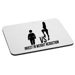 Invest in Weight Reduction Sexy Girl Funny Mouse Pad
