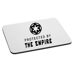 Protected By the Galactic Empire Mouse Pad